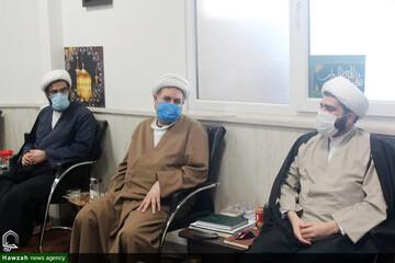 بررسی برنامه ۵ساله حوزه علمیه خوزستان در نشست با مدیر برنامهریزی راهبردی حوزههای علمیه