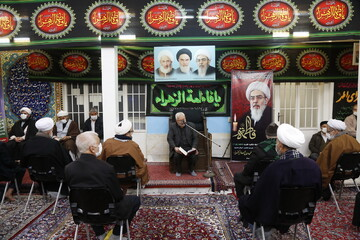 تصاویر/ مراسم بزرگداشت مرحوم آیت الله العظمی فاضل لنکرانی
