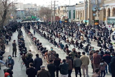 تصاویر/ اجتماع عزاداران فاطمی(سلام الله علیها) شهرستان کرمانشاه