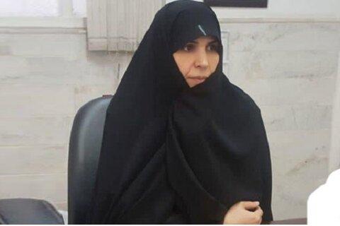 خانم محمدی، معاون آموزش مؤسسه آموزش عالی معصومیه خواهران