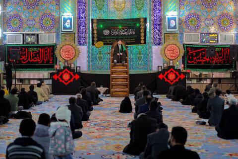 تصاویر/ سوگواری سالرزو شهادت حضرت زهرا سلام الله علیها در یزد