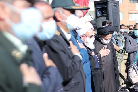 تشییع شهید گمنام در سالروز شهادت حضرت زهرا(س)