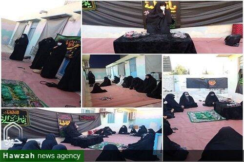 کلیپ/ برگزاری مراسم عزاداری شهادت حضرت زهرا (س) توسط طلاب مدرسه حضرت زینب (س) بوشهر