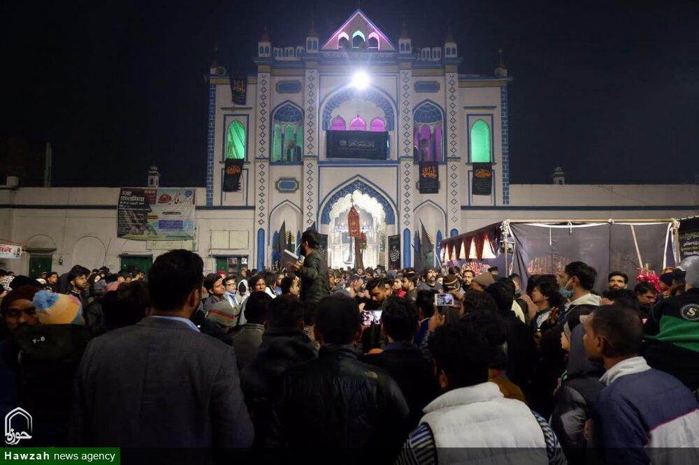 تصاویر/ لکھنؤدرگاہ حضرت عباس میں عزائے فاطمیہ کی دوسری مجلس