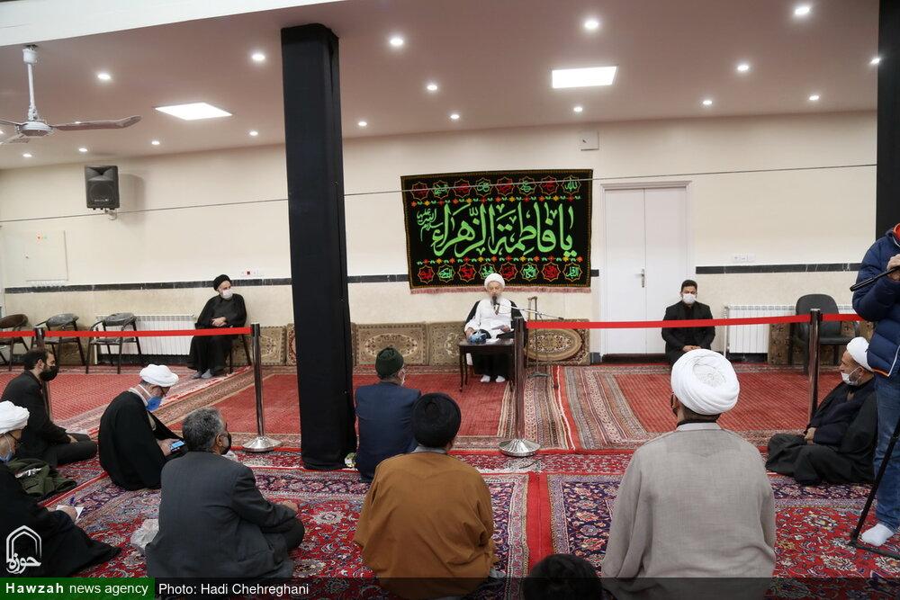 تصاویر / مراسم عزاداری شهادت حضرت فاطمه زهرا (س) در بیوت مراجع و علما