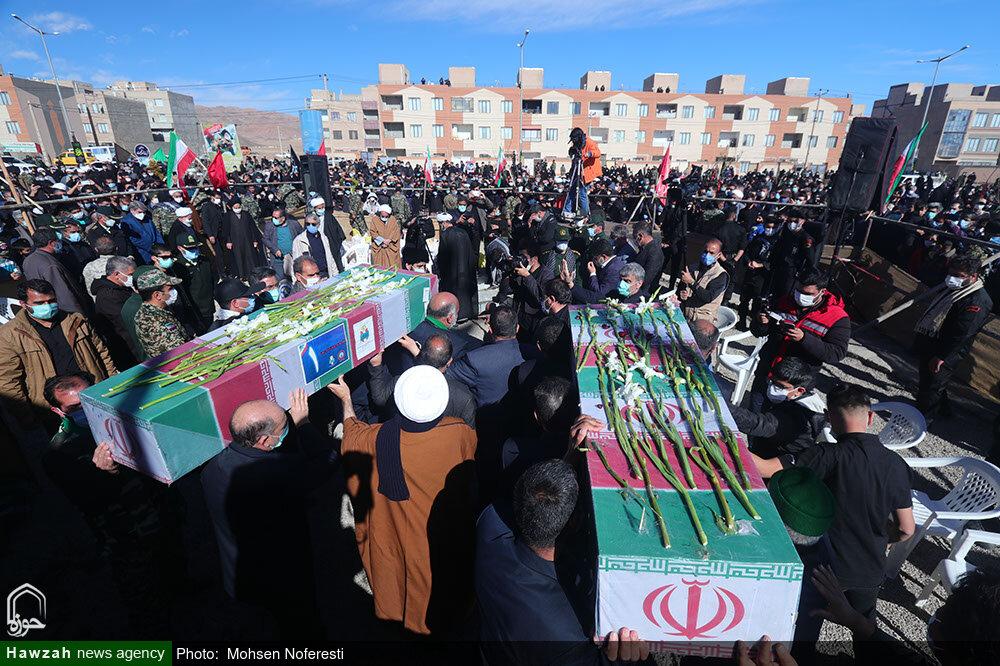 تصاویر/ تشییع پیکر شهید گمنام در سالروز شهادت حضرت زهرا(س) در بیرجند