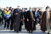 تصاویر/ سفر نماینده ولی فقیه در خراسان شمالی به جاجرم