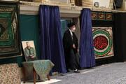 تصاویر/ آخرین شب مراسم عزاداری حضرت فاطمهزهرا (س) با حضور رهبر معظم انقلاب
