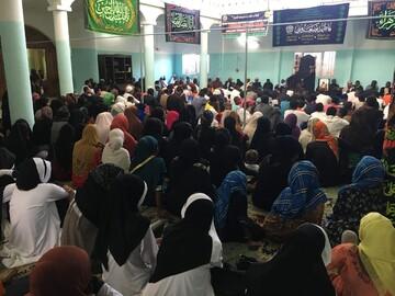 تصاویر/ عزاداری شیعیان شهر ماژونگا در ماداگاسکار به مناسبت شهادت حضرت زهرا(س)