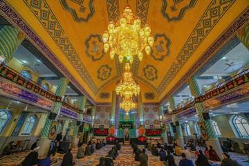 تصاویر/ مراسم سوگواری شهادت بانوی دو عالم در یزد