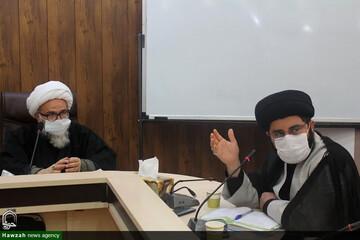 جلسه توجیهی اجرای درسنامه نقد وهابیت در مدارس علمیه اهواز برگزار شد