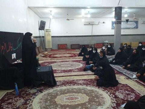 اعزام طلاب مبلغه موسسه آموزش عالی حوزوی الزهرا(س) اهواز