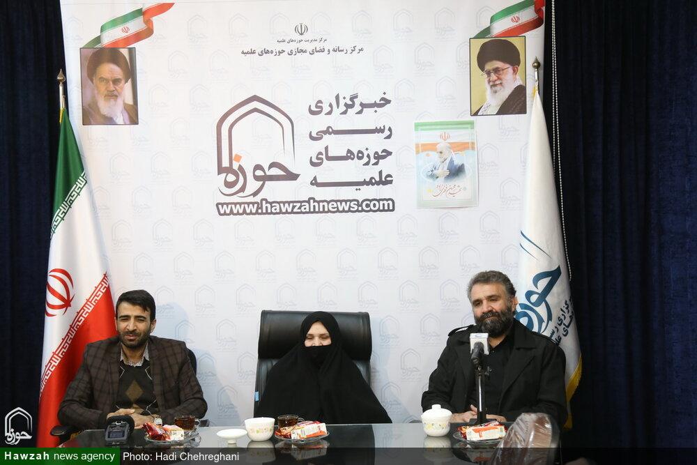 تصاویر / نشست صمیمی خبرگزاری حوزه با خانواده شهید محسن فخری زاده