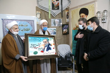 تصاویر/ نکوداشت دانشمند هستهای شهید محسن فخری زاده در قرارگاه حوزوی انقلاب اسلامی