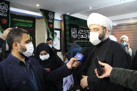 محمد قمی در جمع خبرنگاران