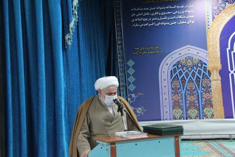 تصاویر/ برگزاری مراسم تودیع و معارفه معاونین حوزه علمیه آذربایجان غربی