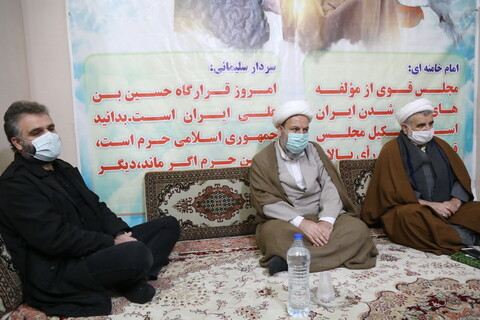 نکوداشت دانشمند هستهای شهید محسن فخری زاده در قرارگاه حوزوی انقلاب اسلامی