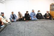 مرجع عالی قدر آیت اللہ العظمی حافظ بشیر نجفی  کی خدمت میں قبیلہ بنی حسن کے افراد
