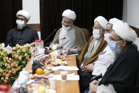 تصاویر/بیست و دومین پیش نشست اجلاسیه اساتید با حضور معاونین تهذیب