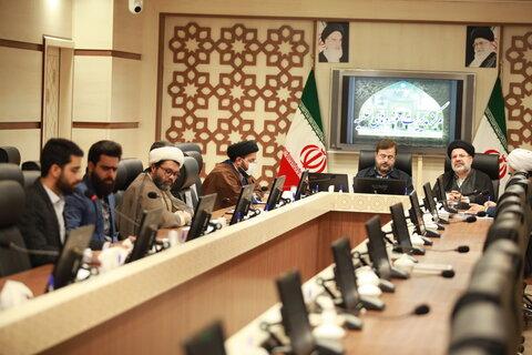 نشست جلسه استانی دفتر موقوفات حوزه های علمیه