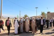 تصاویر/ سفر یک روزه نماینده ولی فقیه در استان هرمزگان به دهستان سیاهو بندرعباس