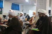 استقبال روحانیون کردستان از دوره آموزش عمومی «ولایت فقیه و حکومت اسلامی»