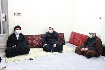 دیدار معاون فرهنگی، تبلیغی دفتر تبلیغات اسلامی با نماینده ولیفقیه در خوزستان