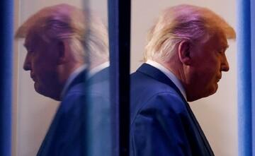 سکانس پایانی ترامپ + تصویر