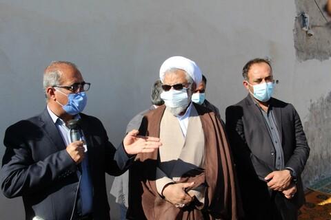 تصاویر سفر یک روزه نماینده ولی فقیه در استان هرمزگان به دهستان سیاهو بندرعباس