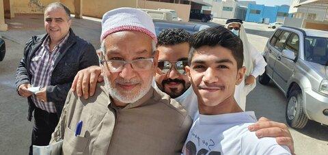 شیخ عبد المحسن ملا عطیبه الجمری خطیب مشهور بحرینی