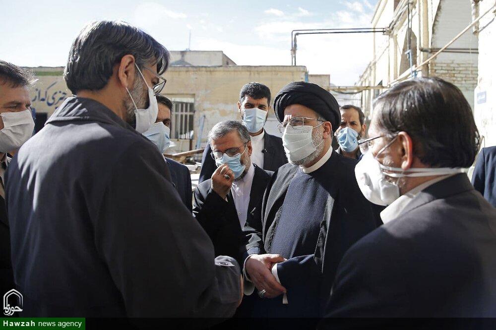 فیلم | بازدید رئیس قوه قضائیه از کاروانسرای شاه عباسی سمنان | اقدام عملی در سفر استانی