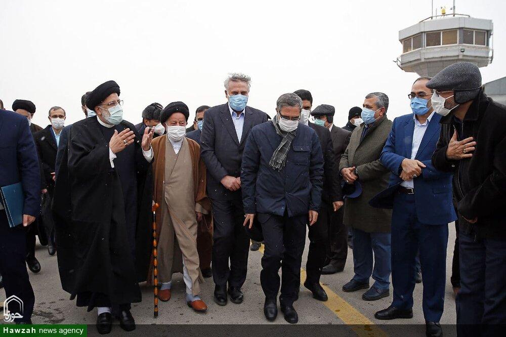 تصاویر/ سفر رئیس قوه قضائیه به سمنان