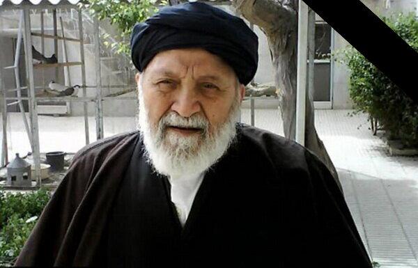 رئیس مرکز خدمات درگذشت آیت الله علوی سبزواری را تسلیت گفت