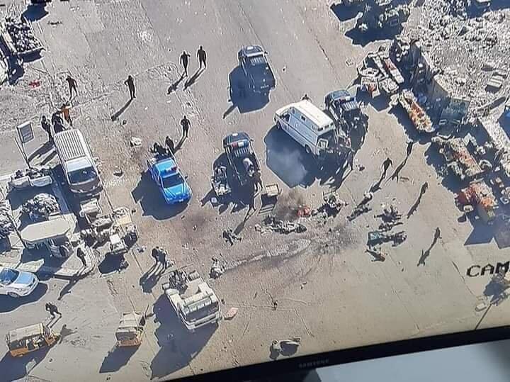 در انفجار بغداد ۲۵ نفر شهید و ۲۱ نفر مجروح شدند + تصاویر و فیلم