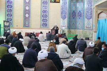تصاویر/ برگزاری اولین نماز جمعه بیجار بعد از ماهها تعطیلی به علت کرونا