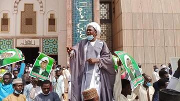 جوش و خروش مردم پایتخت نیجریه بعد از اقامه نماز جمعه +تصاویر