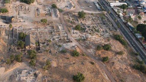 کشف مسجد دوران پیامبر اسلام (ص) در دریاچه طبریه، سرزمینهای اشغالی