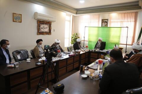 بازدید نماینده ولی فقیه در کردستان از رسانه رسمی حوزه
