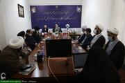 بالصور/ افتتاح مكتب قم لمركز البحوث في مجلس الشورى الإسلامي بمدينة قم المقدسة