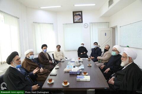 بالصور/ ممثل قائد الثورة الإسلامية في دولة أذربيجان يلتقي بشخصيات حوزوية بقم المقدسة