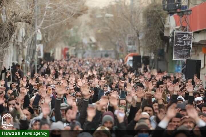 تصاویر/ کوئٹہ میں حضرت امام مہدی (عج) کی شان میں ہونے والی گستاخی کے خلاف احتجاجی جلسہ