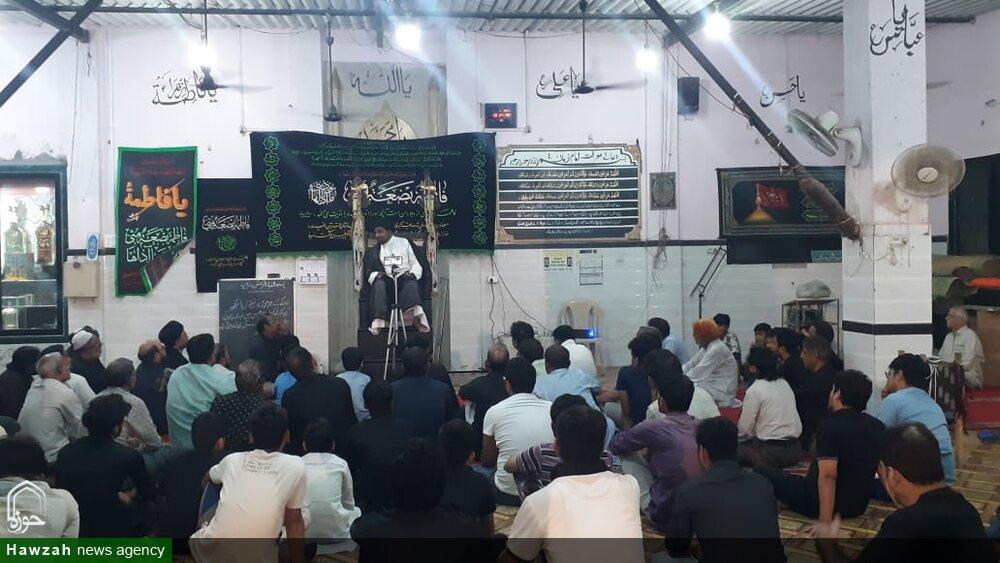 تصاویر/ شہادت فاطمہ زہرا (س) و شہدائے راہ مقاومت کی پہلی برسی کے موقع پر ممبرا تھانہ میں خمسہ مجالس منعقد