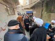 وفد المرجعية الدينية يزور مجالس العزاء المقامة على ارواح شهداء التفجير الأخير في ساحة الطيران ببغداد