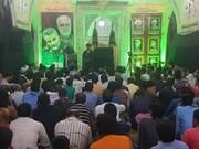 ممبئی میں شہدائے مقاومت کی یاد میں عظیم الشان تقریب کا انعقاد/خانہ فرہنگ ایران کے سربراہ کی شرکت