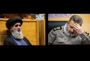 تسلیت رئیس سازمان عقیدتی سیاسی وزارت دفاع به سرلشکر فیروزآبادی