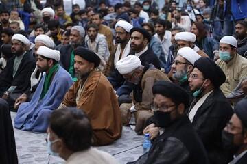 تصاویر/ کراچی میں سردارانِ شہدائے مدافعان حرم اہل بیت ؑ اور شہدائے مچھ کی یاد میں یاد گار مجلس عزا کا انعقاد و قوم کے اتحاد کا عظیم مظاہرہ