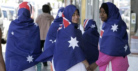 مسلمانان در استرالیا جشن روز ملی برگزار میکنند