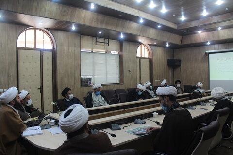 اجلاسیه مدیران مدارس علمیه قرآنی حوزه علمیه خوزستان