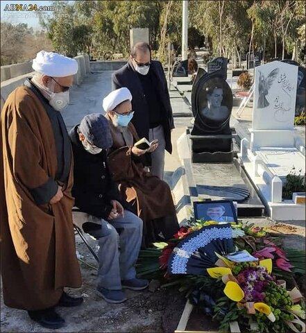مراسم تدفین پیکر دیپلمات برجسته جمهوری اسلامی