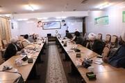 بررسی طرحهای عملیاتی دهه فجر در قرارگاه مردمی مبلغین بخشهای تابعه قم